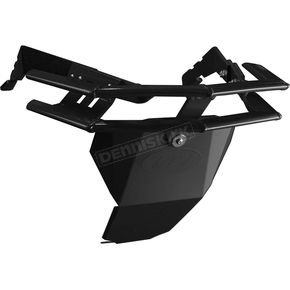StraightLine Performance Black Aluminum Rugged Series Front Bumper - 182-110