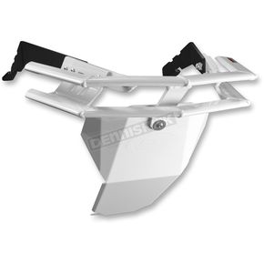 StraightLine Performance White Aluminum Rugged Series Front Bumper - 182-110-WHIT