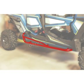 Red RZR 4-Seater Nerf Bars - 0530-1429