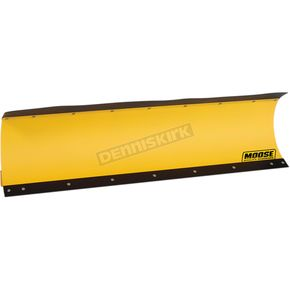 66 in. Yellow Standard Plow Blade w/Rubber Flap - 4501-0755
