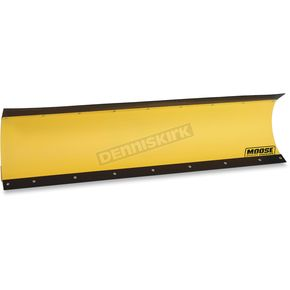 72 in. Yellow Standard Plow Blade w/Rubber Flap - 4501-0756