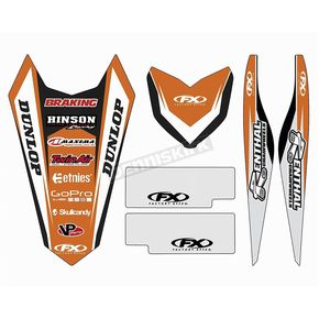 Factory Effex KTM Graphic Trim Kit - 19-50530