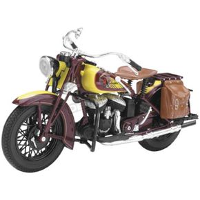 New Ray Toys Indian Sport Scout 1:12 Scale Die-Cast Model - 42113