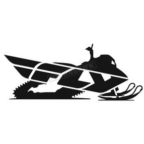 Fly Racing 8 in. Fly Snow Sticker - 99-8224