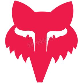 Fox Red 3.5 in. Legacy Head Sticker - 14906-003-OS