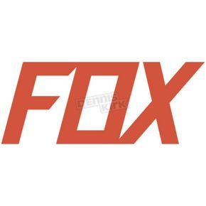Fox Flo Orange 2.75 in. Fox TDC Sticker - 14908-824-OS