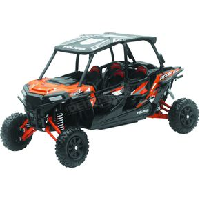 Polaris RZR XP 4 Turbo EPS Spectra Orange 1:18 Scale Die-Cast Model - 57843A
