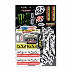 2018 Deluxe Decal Sheet - DC18DLX