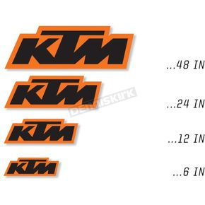 KTM 12 in. Decal - 40-30-112