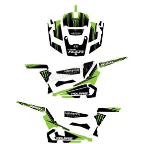 Monster Energy UTV Graphic Kit - 20-60-100