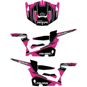 Pink/Black RZR Graphic Kit - 20-60-112