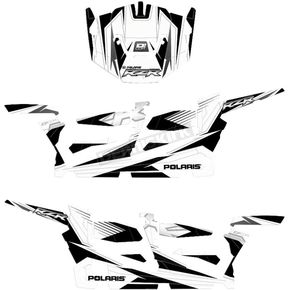 White/Black/Silver RZR Graphic Kit - 20-60-111
