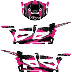 Pink/Black RZR Graphic Kit - 20-60-113