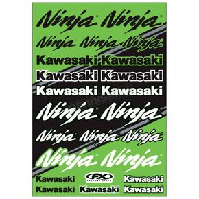 Kawasaki Ninja Sticker Sheet  - 22-68134