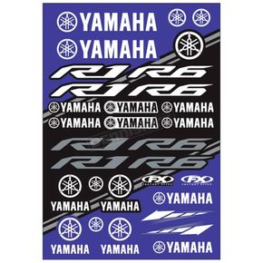 Yamaha Sticker Sheet  - 22-68234