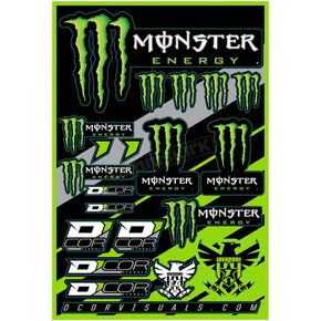 Universal Monster Energy Decal Sheet - 40-90-102