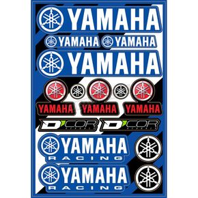 Universal Yamaha Cor 2 Decal Sheet  - 40-50-101
