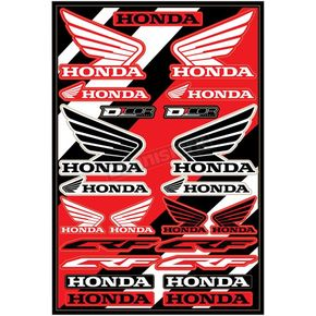 Universal Honda Cor 2 Decal Sheet  - 40-10-101