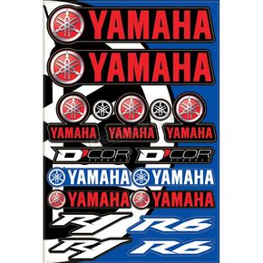 Universal Yamaha Street Decal Sheet  - 40-50-102