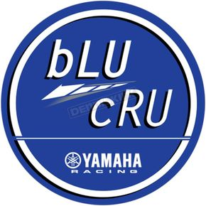 24 in.  Blue Yamaha Blu Cru Decal Sheet  - 40-50-202