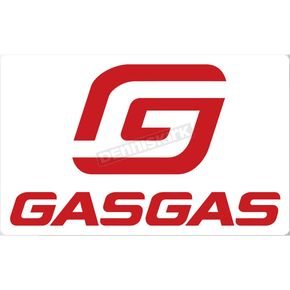 6 in. Gas Gas Decal - 40-65-106