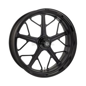 Roland Sands Design Black Ops Front Hutch Wheel - 12047106HUTJSMB