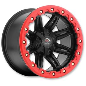 Rear Black/Red Five-Fifty One - 551 14x10 Wheel - 551-141156MBR5