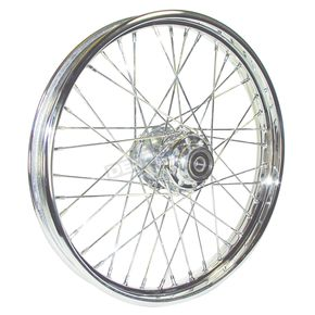 V-Factor Chrome 21x2.15 40 Spoke Front Wheel - 51641