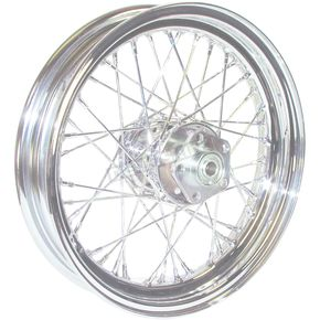 Chrome 16x3.00 40 Spoke Front/Rear Wheel - 51642