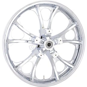 Front Chrome 21 x 3.5 Largo 3D Wheel for ABS - 0201-2207