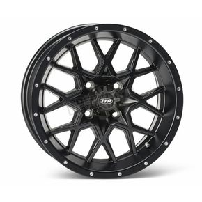 Matte Black Front or Rear 16 x 7 Hurricane Wheel - 1621966017B