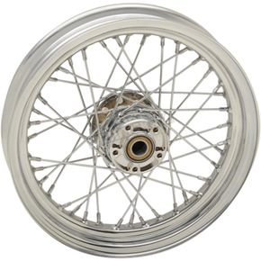Chrome Front 16x3 40-Spoke Laced Wheel (Non-ABS) - 0203-0631