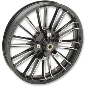 Black Front 21 x 3.5 Precision Cast Atlantic 3D Wheel (ABS) - 0201-2225