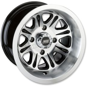 Black Rear 547X 12x8 Wheel - 0230-0899