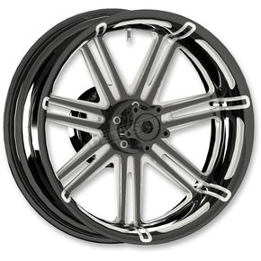 Black 7 Valve 18x5.5 Forged Aluminum Rear Wheel (ABS) - 10301-203-6501
