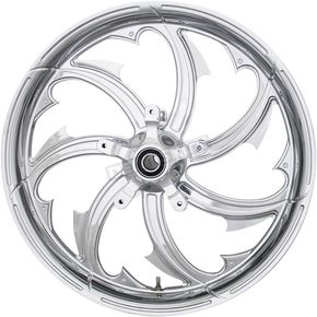 Chrome 21 x 3.25 in.Fury Forged Aluminum Front Wheel for ABS - 2502-FRY-213-CH
