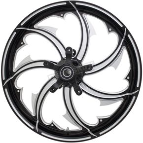 Contrast Cut 21 x 3.25 in.Fury Forged Aluminum Front Wheel for ABS - 2502-FRY-213-BC