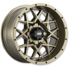 Bronze 14x7 Hurricane Wheel - 1428636729B