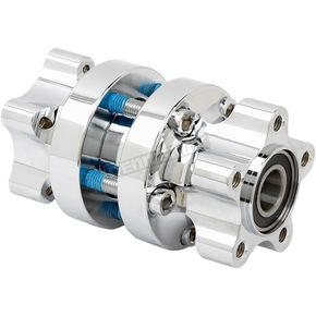 Chrome Rear Cartridge Hub - 17-6516-C