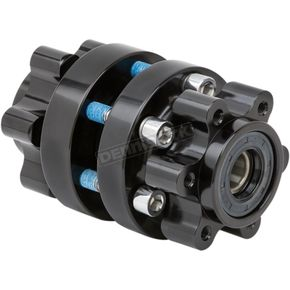 Black Front Forged Billet Hub - 17-7008-B