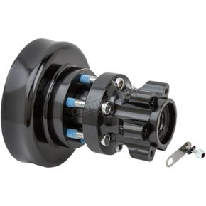 Black Rear Forged Billet Hub - 17-7506-B