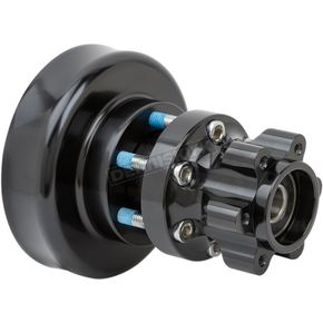 Black Rear Forged Billet Hub - 17-7507-B
