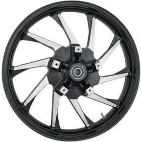 21 in. x 3.5 in. Hurricane Precision Cast 3D One-Piece Wheel w/ABS - 3D-HUR213BC-ABS