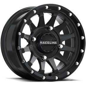 Black Raceline A95 Trophy Simulated Beadlock 15x6 Wheel - 570-1696