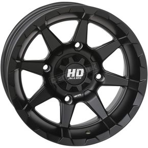 Matte Black Rear HD6 Wheel - 14HD627