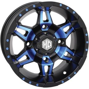 Blue Rear Radiant HD7 Wheel - 14HD703-BLU