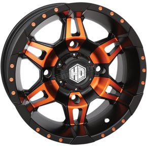 Orange Front Radiant HD7 Wheel - 14HD703-ORG