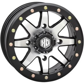 Matte Black  Front Comp Lock HD9 Wheel - 15HB908