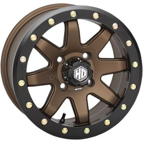 Bronze Front Comp Lock HD9 Wheel - 14HB937