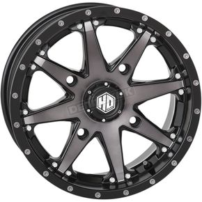 Machined Gloss Black w/Smoke Rear HD10 Wheel - 14HD1017